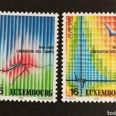 Sellos: LUXEMBURGO, EUROPA CEPT 1995 MNG, PAZ Y LIBERTAD (FOTOGRAFÍA REAL). Lote 203377921