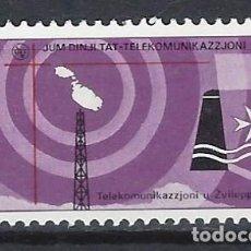 Francobolli: MALTA 1977 - DÍA MUNDIAL DE LAS TELECOMUNICACIONES - SELLO NUEVO **. Lote 205120090