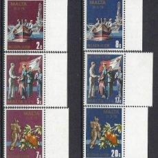 Timbres: MALTA 1979 - FIN DE LOS ACUERDOS CON GRAN BRETAÑA, S.COMPLETA - SELLOS NUEVOS **. Lote 205126725