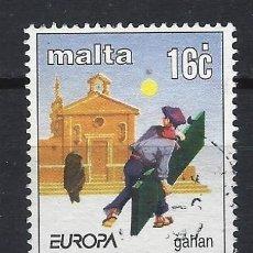 Sellos: MALTA 1997 - EUROPA, CUENTOS Y LEYENDAS - SELLO USADO. Lote 205185495