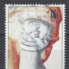 Sellos: MALTA 1997 - 50º ANIVERSARIO DE LA MUERTE DEL ESCULTOR ANTONIO SCIORTINO - SELLO USADO. Lote 205185618