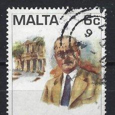 Sellos: MALTA 1997 - DR ALBERT V. LAFERLA LL.D, 1887-1943 - SELLO USADO. Lote 205185805