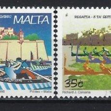 Sellos: MALTA 1998 - EUROPA, FIESTAS NACIONALES, S.COMPLETA - SELLOS NUEVOS **. Lote 205185951