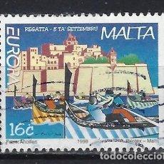 Francobolli: MALTA 1998 - EUROPA, FIESTAS NACIONALES - SELLO USADO. Lote 205186101