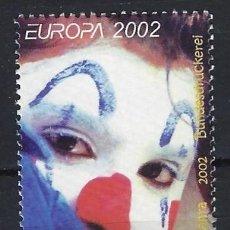 Francobolli: MALTA 2002 - EUROPA, EL CIRCO, S.COMPLETA - SELLO NUEVO **. Lote 205187472