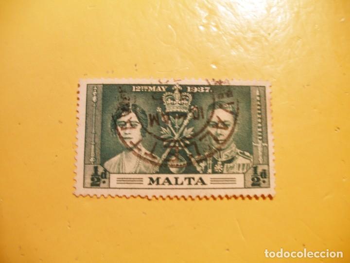 MALTA 1937 - CORONACIÓN JORGE VI Y REINA ISABEL BOWES-LYON - ABADÍA DE WESTMINSTER - 12 MAY.37. (Sellos - Extranjero - Europa - Malta)