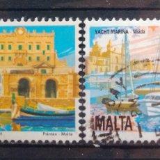 Sellos: MALTA 1991 PANORÁMICAS DE LA ISLA SELLO USADO. Lote 215513860