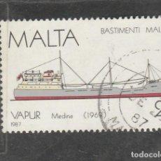 Timbres: MALTA 1987 - YVERT NRO. 756 - USADO -. Lote 216805060