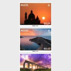Sellos: MALTA 2018 - SEPAC 2018 - SPECTACULAR VIEWS STAMP SET MNH. Lote 218734802