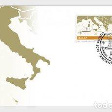 Sellos: MALTA 2020 - EUROPA 2020 - ANCIENT POSTAL ROUTES FDC. Lote 221973185