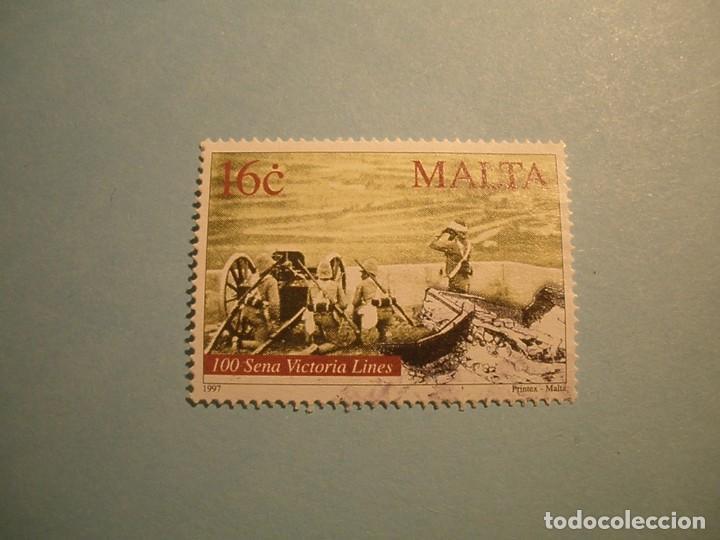 MALTA - LAS LINEAS VICTORIA - LA GRAN MURALLA DE MALTA. (Sellos - Extranjero - Europa - Malta)