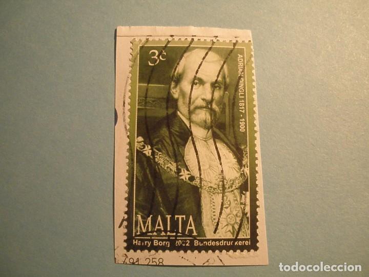MALTA - ADRIAN DINGLI. (Sellos - Extranjero - Europa - Malta)