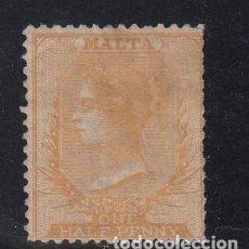 Sellos: MALTA 3 USADA, VICTORIA. Lote 252047135