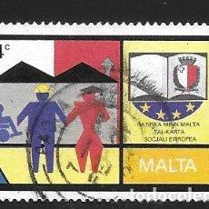 Francobolli: MALTA. Lote 252435970