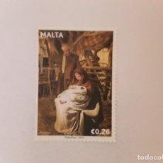 Timbres: AÑO 2014 MALTA SELLO USADO. Lote 253614990