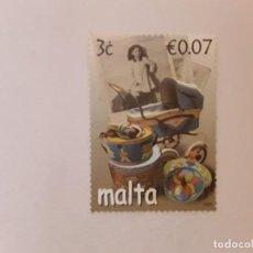 Timbres: AÑO 2007 MALTA SELLO USADO. Lote 253615480