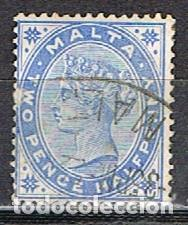 MALTA IVERT Nº 7 (AÑO 1885), REINA VICTORIA, USADO (Sellos - Extranjero - Europa - Malta)