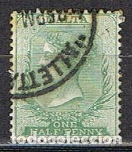 MALTA IVERT Nº 5 (AÑO 1885), REINA VICTORIA, USADO (Sellos - Extranjero - Europa - Malta)