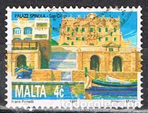 MALTA Nº 853, TEMPLO NEOLÍTICO DE TA' ĦAĠRAT, USADO (Sellos - Extranjero - Europa - Malta)