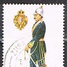 Sellos: MALTA Nº 826, OFICIAL SUPERIOR DE ARTILLERÍA. 1905, USADO. Lote 254596655