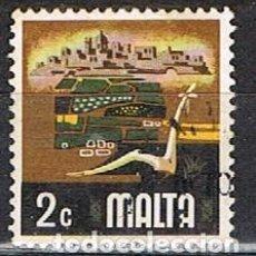 Sellos: MALTA Nº 465, ASPECTOS DE LA VIDA CONTEMPORANEA: AGRICULTUR, USADO. Lote 254599810