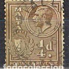 Sellos: MALTA IVERT Nº 117 (AÑO 1926), EDUARDO VII. USADO. Lote 254608910