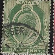 Timbres: MALTA YVERT 18. Lote 257672000