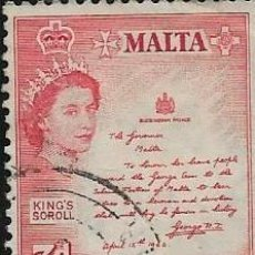Timbres: MALTA YVERT 245. Lote 257675840