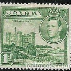 Timbres: MALTA YVERT 194 NUEVO CON GOMA Y CHARNELA. Lote 257676520