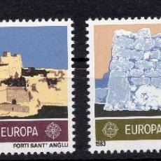 Sellos: MALTA, 1983, STAMP , MICHEL 680-681. Lote 274662428