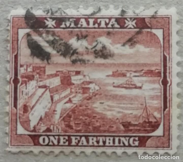 1899. MALTA. 12. PUERTO DE LA VALETTA. USADO. (Sellos - Extranjero - Europa - Malta)