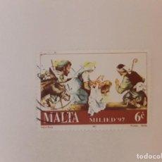 Sellos: AÑO 1997 MALTA SELLO USADO. Lote 277697448