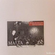 Sellos: AÑO 1997 MALTA SELLO USADO. Lote 277697698