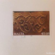 Sellos: AÑO 2009 MALTA SELLO USADO. Lote 278940228