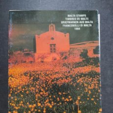Sellos: SELLOS OFERTA CARPETA OFICIAL MALTA AÑO 1994 EN NUEVO VER FOTOGRAFÍAS. Lote 283675883