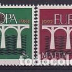 Sellos: MALTA 685/6 EUROPA CEPT. Lote 287685483