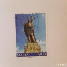 Sellos: AÑO 2019 MALTA SELLO USADO. Lote 287999143