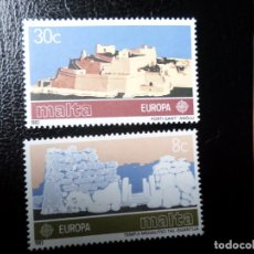 Sellos: *MALTA, 1983, EUROPA, YVERT 668/9. Lote 288108168