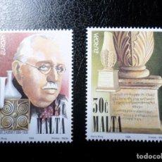 Sellos: *MALTA, 1994, EUROPA, YVERT 901/2. Lote 288111458