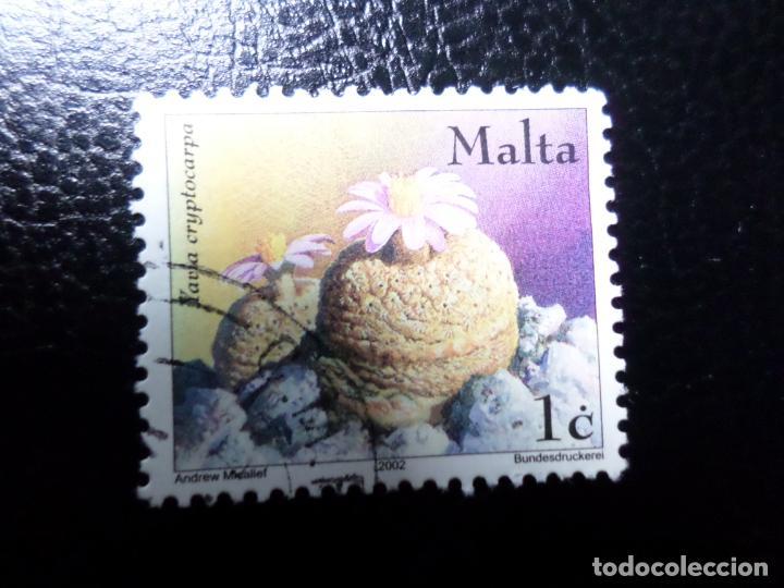 *MALTA, 2002, FLORA, YVERT 1212 (Sellos - Extranjero - Europa - Malta)