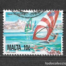 Sellos: MALTA SELLO USADO - 11/2. Lote 295018123