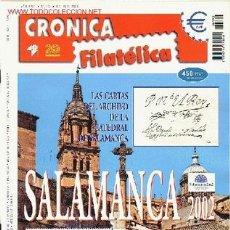 Sellos: CRONICA FILATELICA. Lote 21469024
