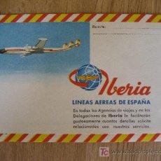 Timbres: IBERIA LINEAS AEREAS DE ESPAÑA. SOBRE CORREO AEREO. Lote 57143249