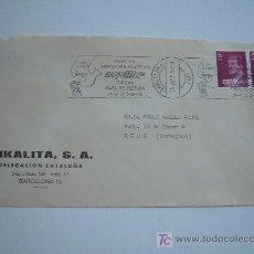Sellos: FILATELIA RODILLO BARNAFIL EXPOSICIÓN FILATÉLICA EN GIRONA FECHADA EN BARCELONA 14 OCT. 1980. Lote 20835180