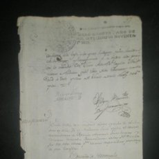 Sellos: PAPEL TIMBRADO.PAPEL FISCAL. SELLO POBRES DE SOLEMNIDAD DE CUATRO MARAVEDIS 1796. Lote 27228769