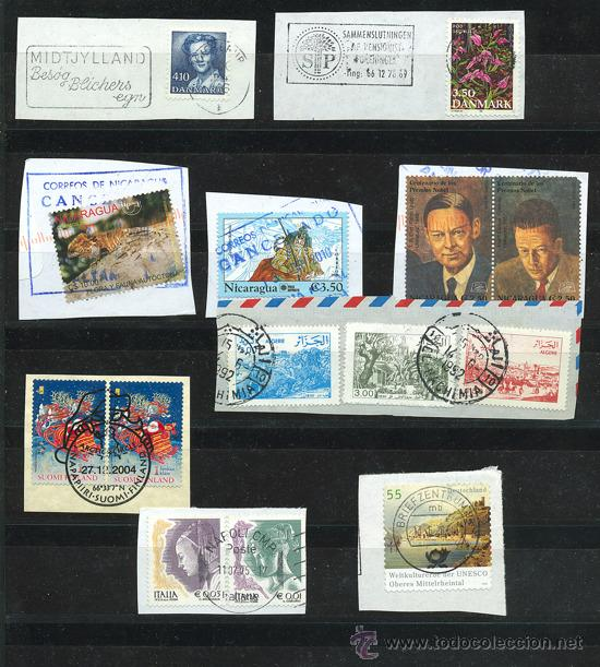 Sellos: + de 450 sellos del mundo, todos diferentes - Foto 2 - 31388152