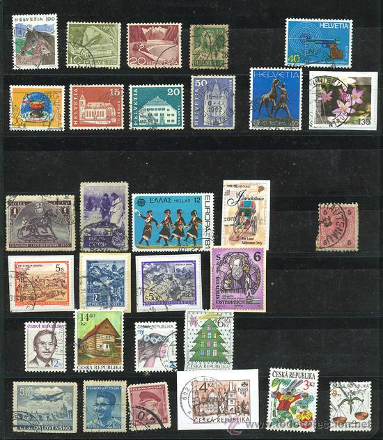Sellos: + de 450 sellos del mundo, todos diferentes - Foto 5 - 31388152
