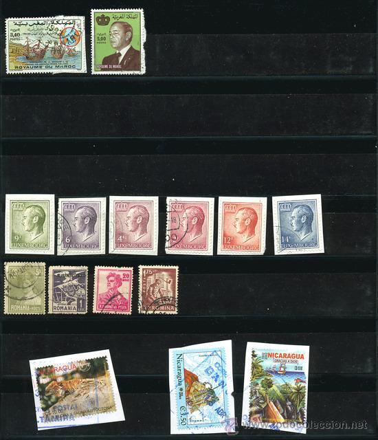 Sellos: + de 450 sellos del mundo, todos diferentes - Foto 8 - 31388152
