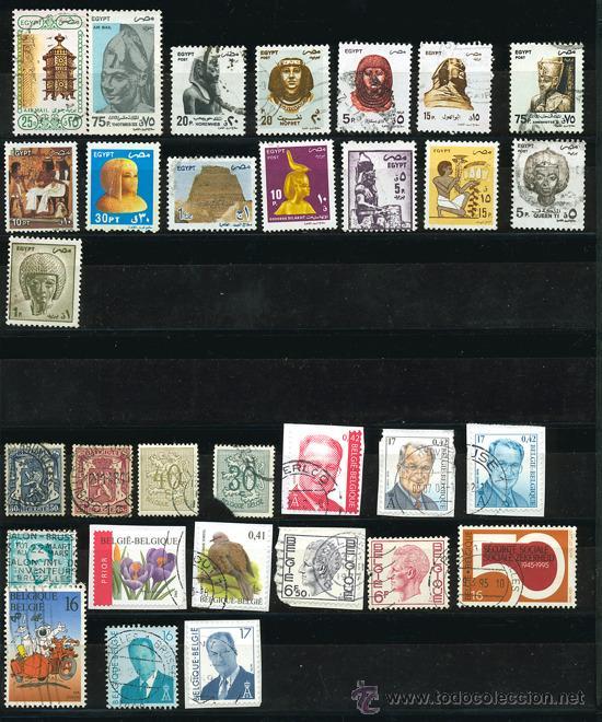 Sellos: + de 450 sellos del mundo, todos diferentes - Foto 10 - 31388152