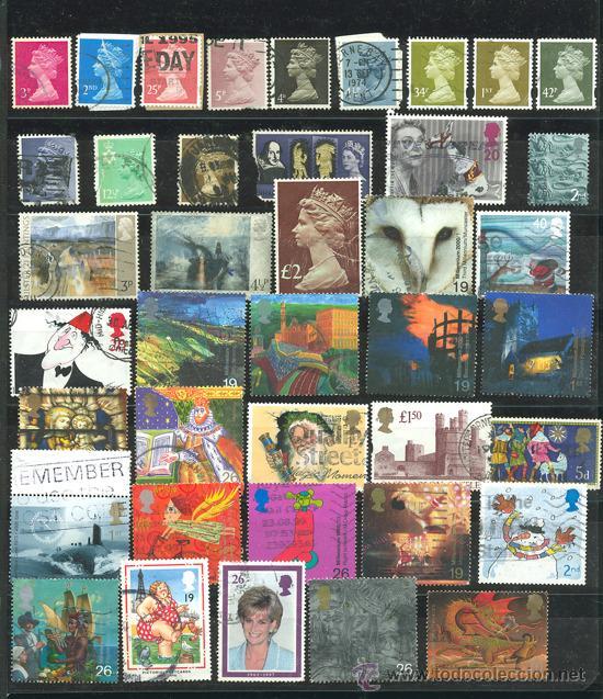 Sellos: + de 450 sellos del mundo, todos diferentes - Foto 11 - 31388152